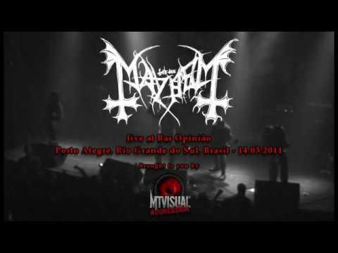MAYHEM - Live at Bar Opinião - Porto Alegre [2011] [FULL SET]