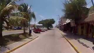 ibikeTulum - ride through Tulum to the beach with GoPro Hero2.