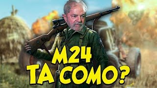 DA A M24 NA MAO DO VEIO - Playerunknowns Battlegrounds