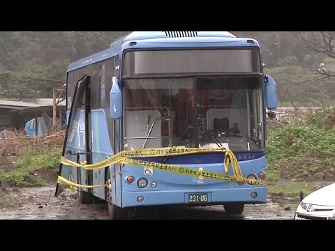 Video of school girl death raises questions - bad driving or bus company negligence?