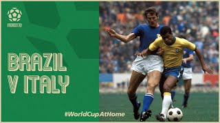 Mexico70 Brazil v Italy Extended Highlights 1970 World Cup Final