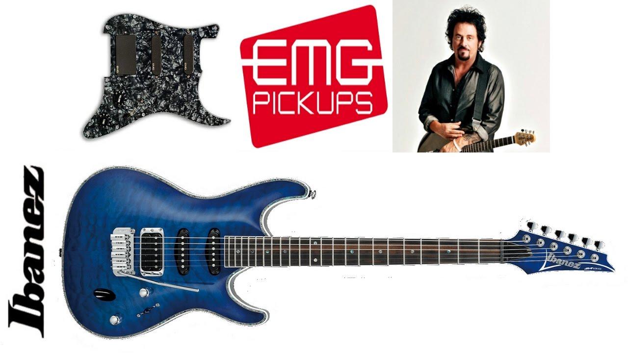 Ibanez SA 360 QM with EMG SL20 - Steve Lukather - YouTube