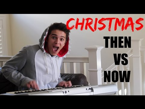Christmas as a Little Kid VS Now | Brent Rivera