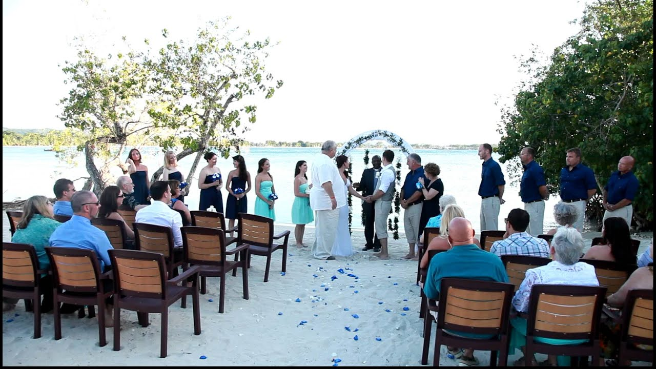 Negril Jamaica Beach Weddings 2012 - YouTube