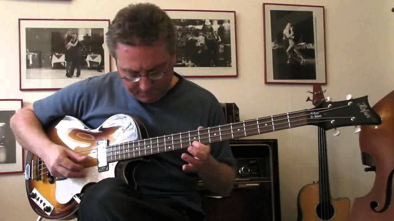 Hofner C Series Club Bass Wiring Diagrams Violin Diagram Rhyme And Reason Solo On Hoefner Ignition Youtube Cavern