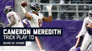 Cameron Meredith Hits Matt Barkley for the TD! | 🚨Trick Play Alert🚨  | NFL Wk 17 Highlights