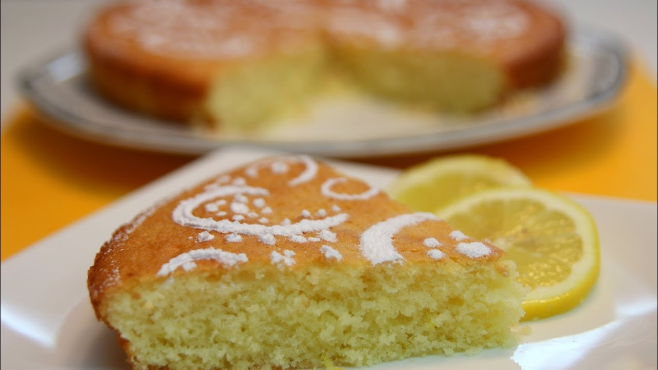 Moist Lemon Cake Recipe Cookingwithalia Episode 325 Youtube