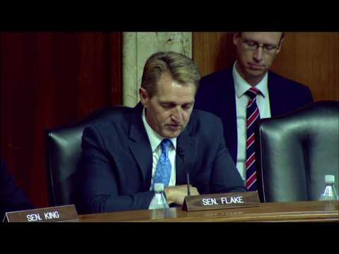 Sen. Flake Opening Statement at Drought Hearing