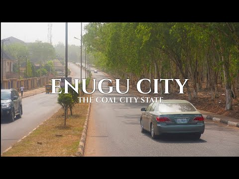 Enugu, Nigeria - Driving around the Coal City