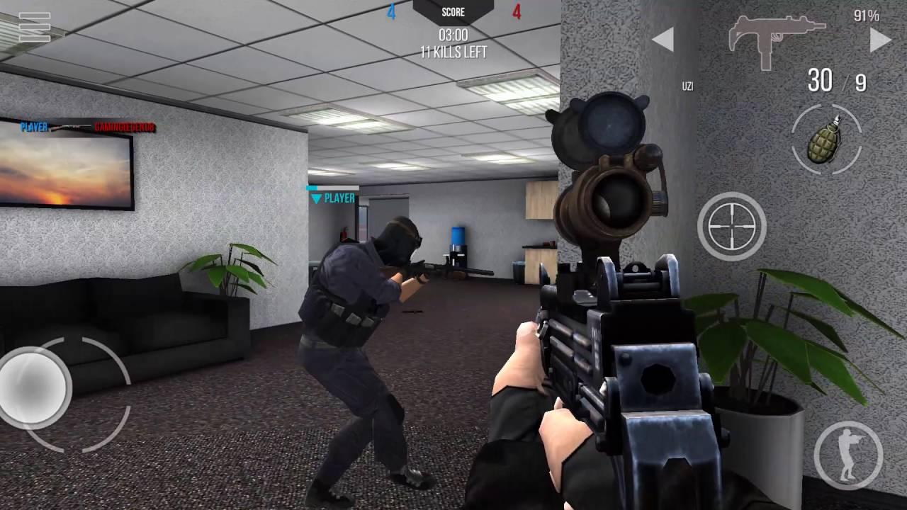 modern strike online mobile gameplay youtube