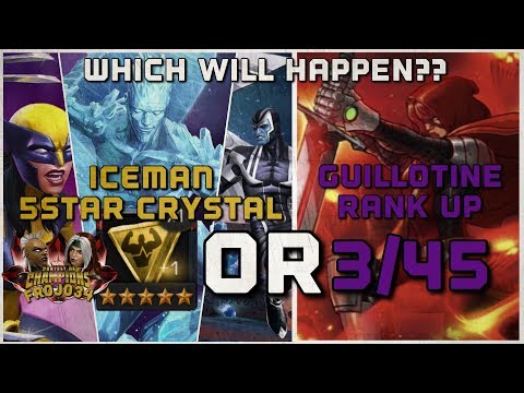 Iceman 5 star Crystal Livestream  | Marvel Contest of Champions