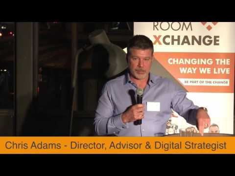 Chris Adams on Australian Tech Startups for The Room Xchange Public Launch