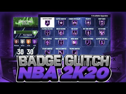 NBA 2K20 BADGE GLITCH AFTER PATCH (PS4 & XBOX) *WORKING* MAX ALL BADGES FAST AND EASY *MUST WATCH