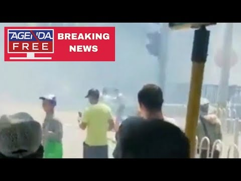 Explosion Near US Embassy in Beijing, China - LIVE BREAKING NEWS  COVERAGE