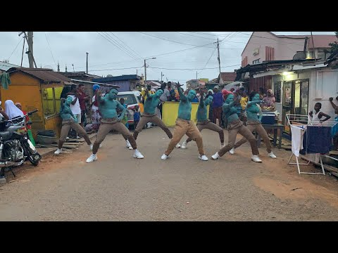 The Making of Black is King Ghana Dance Scene