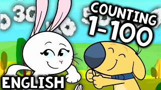 Counting to 100 With BIG Numbers Song for Kids | Kindergarten, 1st Grade