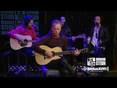 Sting Message in a Bottle  on the Howard Stern Show