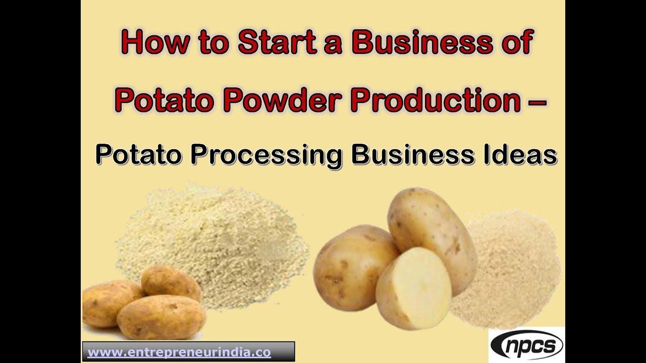 Production produce potatoes