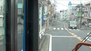 川崎市バス 生02 鷲ヶ峰営業所→生田駅 【前面展望】