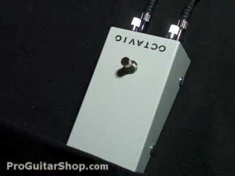 Dunlop Jimi Hendrix Octavio Octave Fuzz Pedal