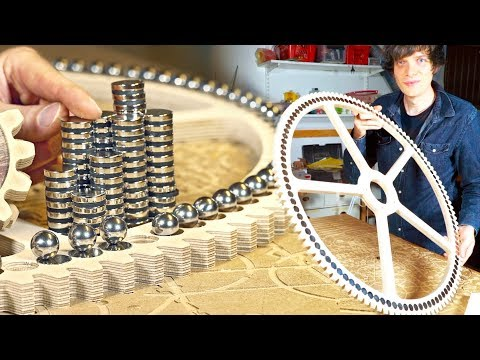 Lifting Marbles With Magnets - Building MMX Ep.#6