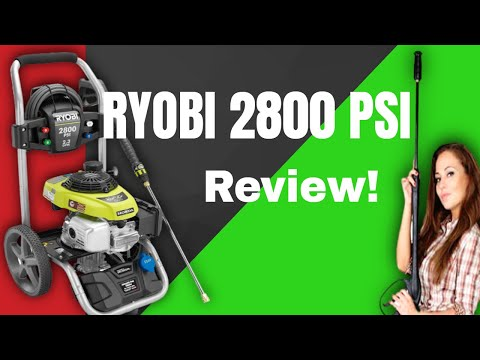 RYOBI 2800 PSI Gas Pressure Washer Review