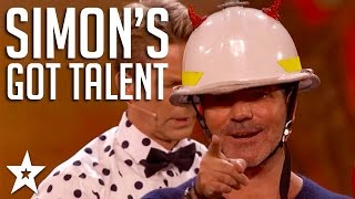 Simon Cowell's Got Talent! | Knife Throwing, Lap Dancing & More | Got Talent Global