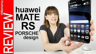 Huawei Mate RS PORSCHE review -ALUCINANTE escáner bajo la pantalla-