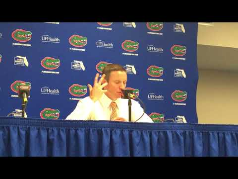 Florida coach Mike White on Gators' 108-68 win over North Florida