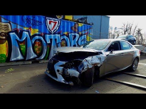 2015 Lexus IS250. Автомобили до 10000$ со страховых аукционов США