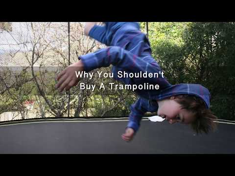 The Risks of purchasing a Trampoline for your children