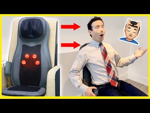Best Massage Seat Cushion of 2017 (Unboxing & Review)