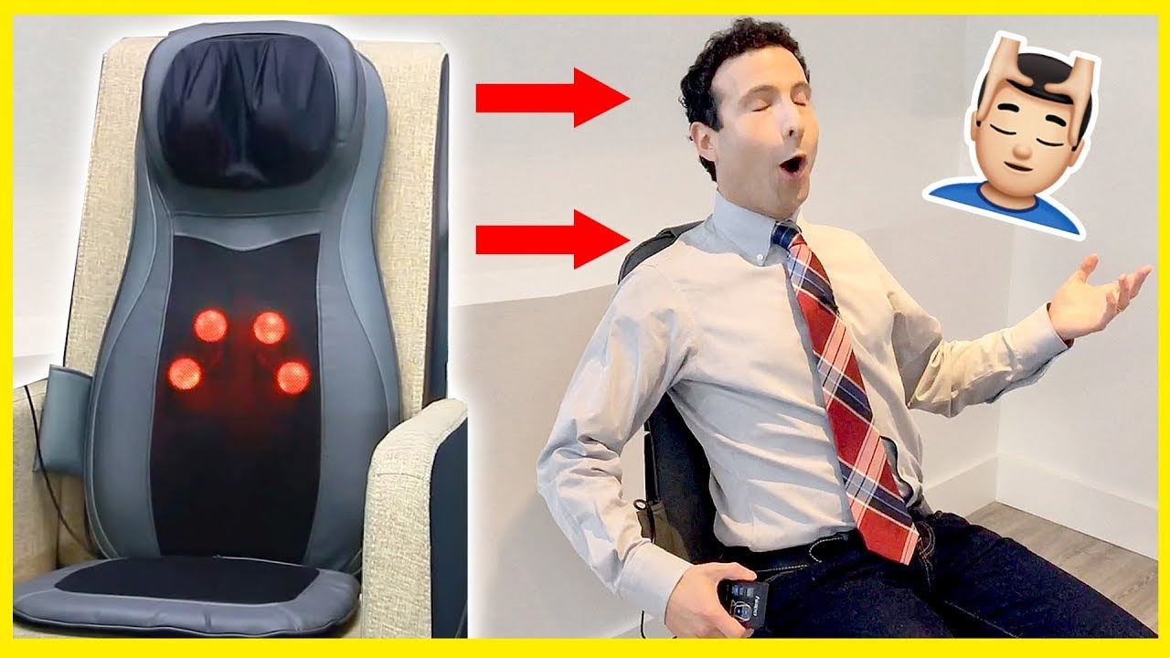 Best Massage Seat Cushion Of 2017 Unboxing Review Youtube