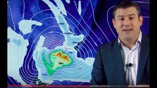 Cyclone Gita to hit central New Zealand on Tuesday night (19/02/18)