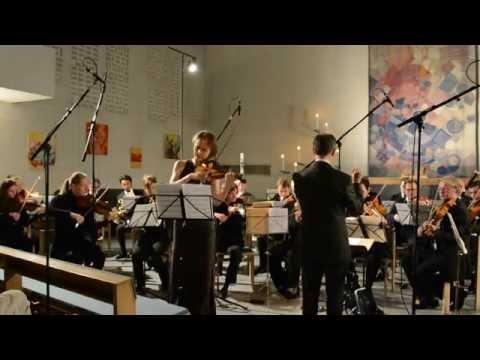 Kent Carlson, concerto for violin and orchestra, 1. Satz Allegro - Olga Pogorelova, Violine