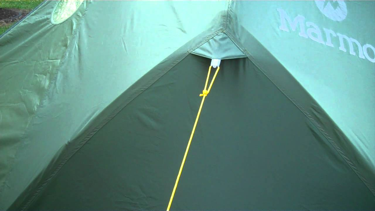 & How to set up tent guylines - YouTube