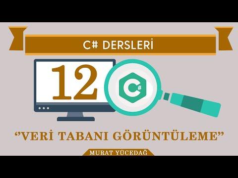 C# Ders 12-Veri Tabanı Görüntüleme
