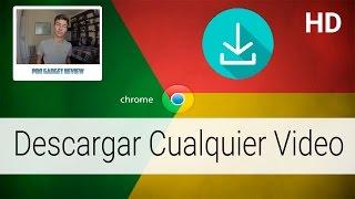 Cómo Descargar Vídeo de Cualquier Página con Google Chrome thumbnail