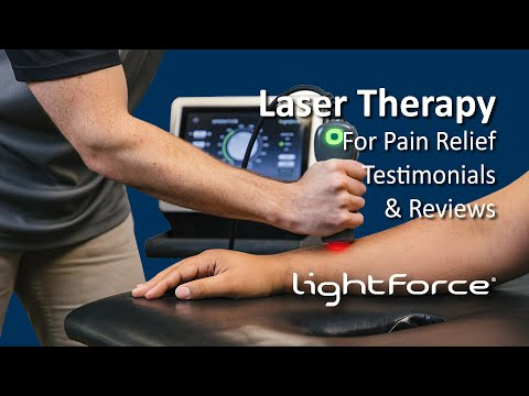 Patients in Pain Find Relief with Deep Tissue Laser Therapy