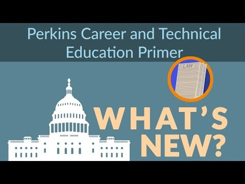 Perkins Career and Technical Education Primer: What's New?