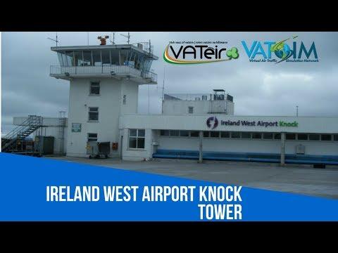 [VATSIM ATC] Knock Tower [EIKN] Live Stream 18/10/2017