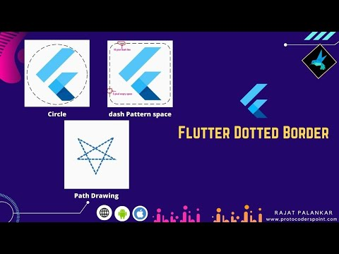Easiest way to create dotted border / dashed border around container in flutter