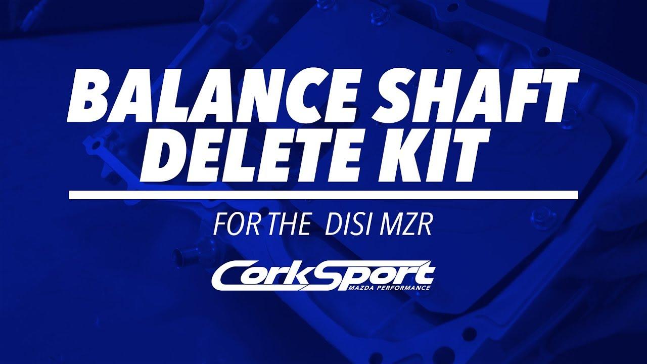 2 3T DISI MZR - Balance Shaft Delete Kit