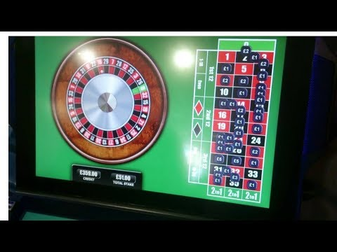 Video Roulette odds 0 00