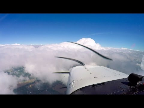 IFR flight to Put-in-Bay Airport (3W2) from Indianapolis Metro with ATC in a Cessna 172 RG