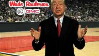 "Dick Vitale rings in March Madness 2011 NCAA Tournament at Wade Raulerson Buick GMC ""Awesome Baby"""