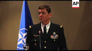 NATO commander comments on Libya, NATO resources, Serbia relations