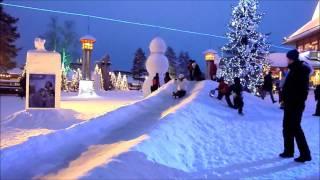 видео Зимний отдых в Лапландии. «Снежный Замок».