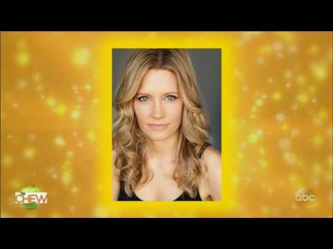The Chew (January 16, 2017) Actress Kadee Strickland.