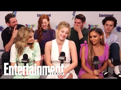 Riverdale: The Cast On Which Actor Is Most Like Their Character  SDCC 2018  Entertainment Weekly